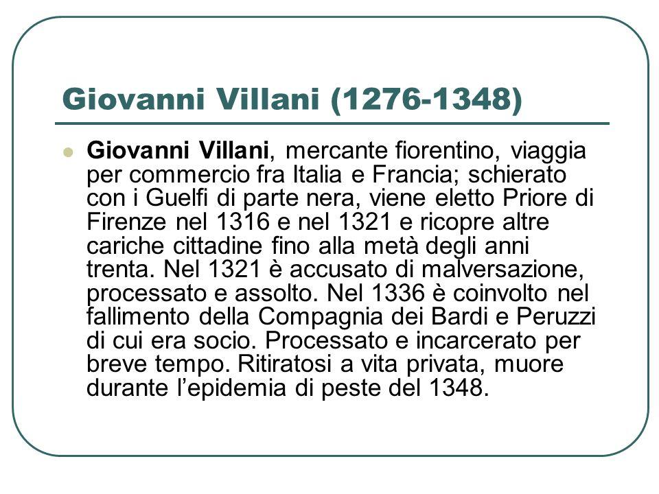 Giovanni Villani (1276-1348)