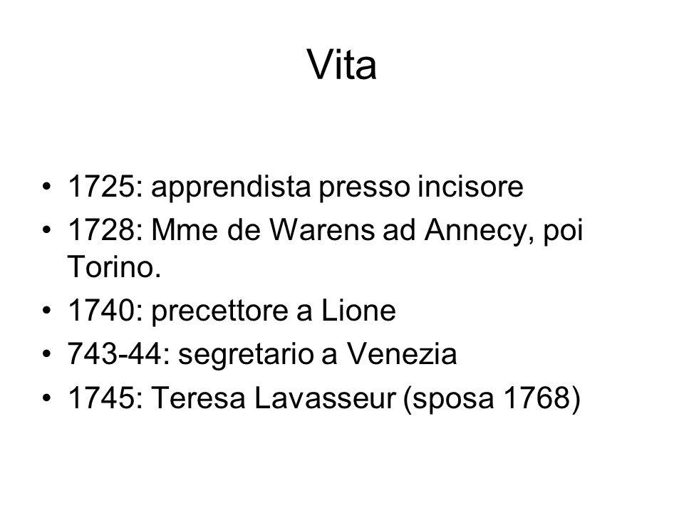 Vita 1725: apprendista presso incisore