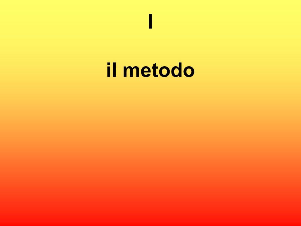 I il metodo