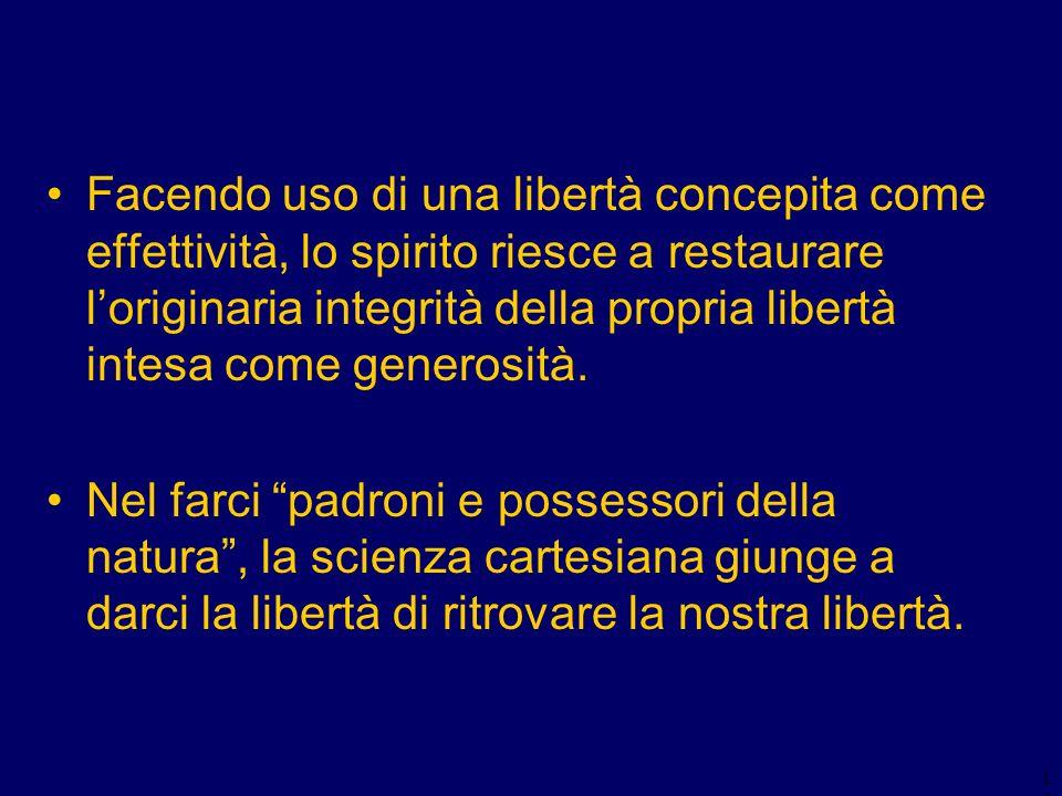 2) La creazione delle verità eterne: la libertà assoluta di Dio