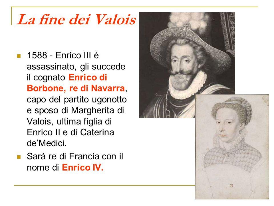 La fine dei Valois
