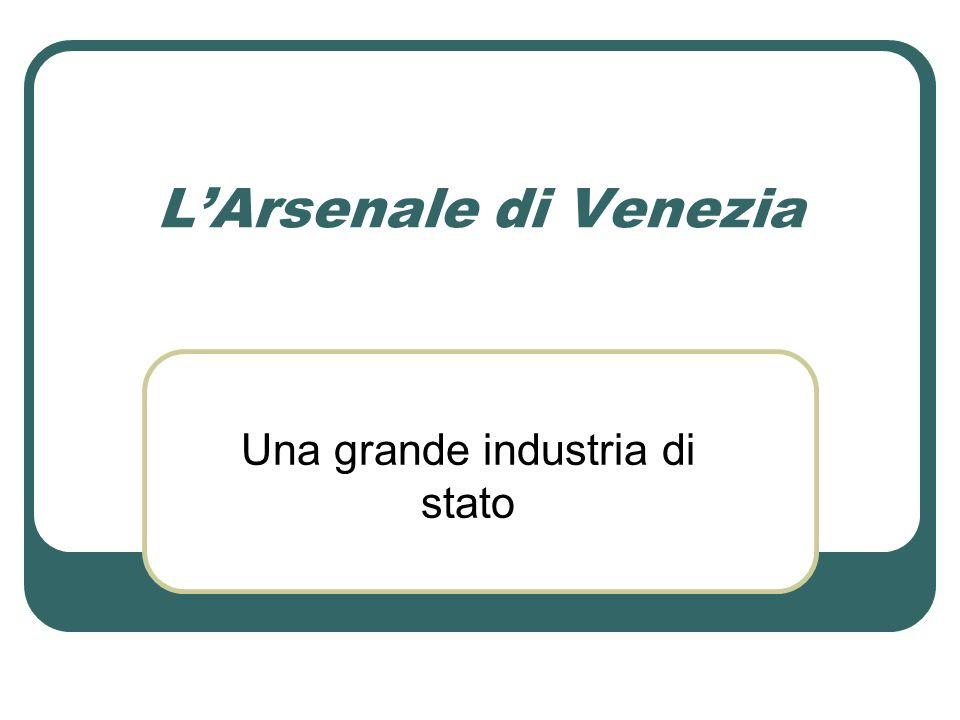 Una grande industria di stato