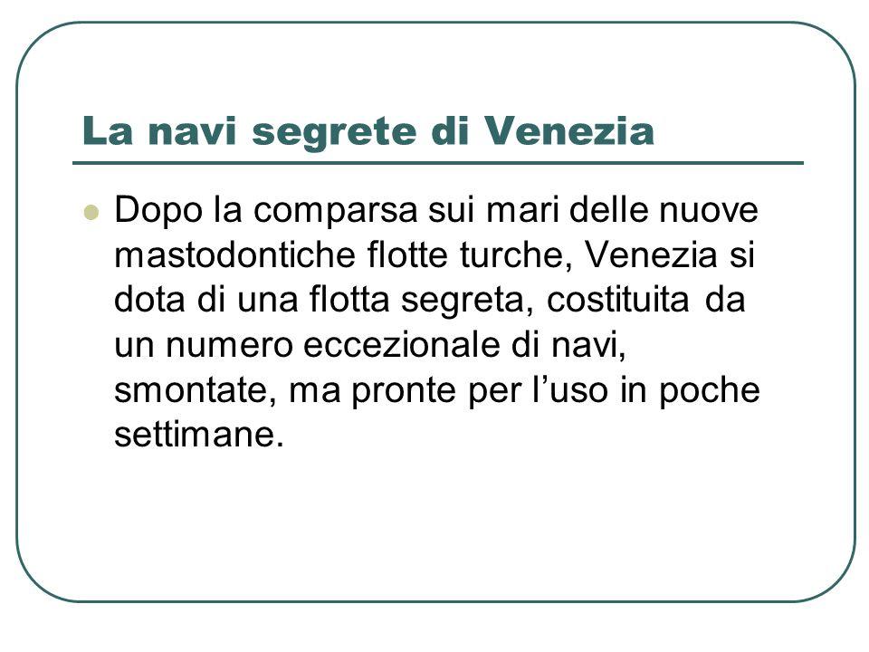 La navi segrete di Venezia