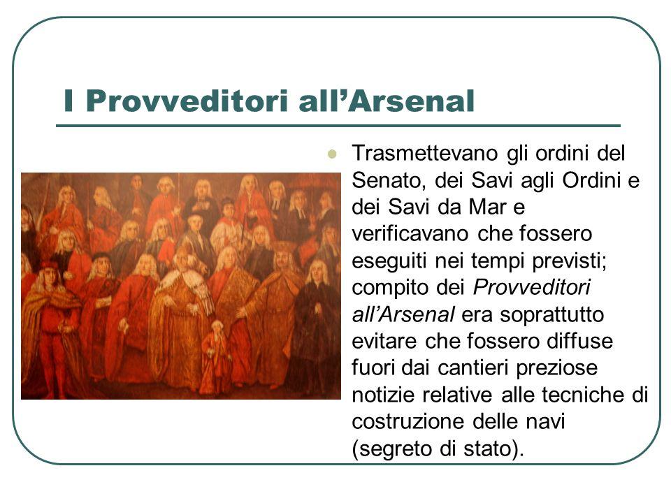 I Provveditori all'Arsenal