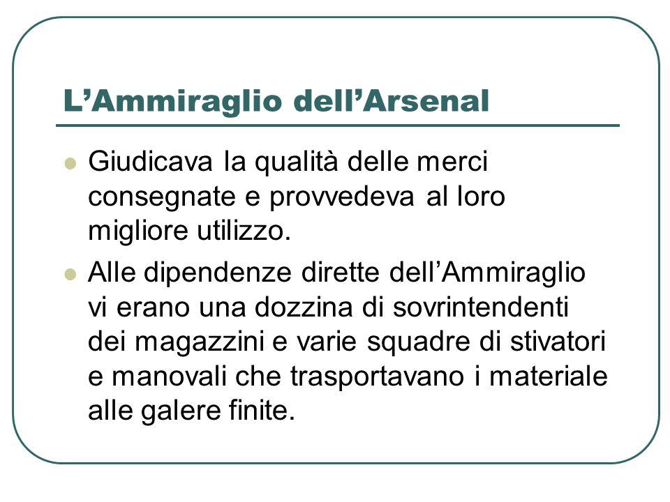 L'Ammiraglio dell'Arsenal