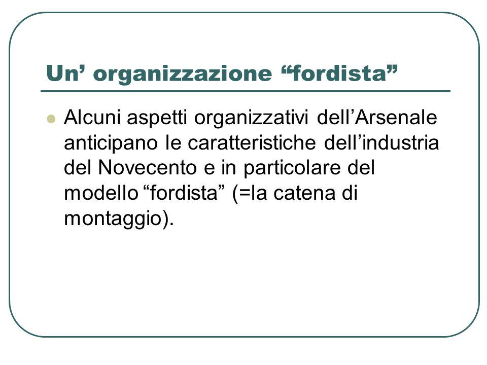 Un' organizzazione fordista