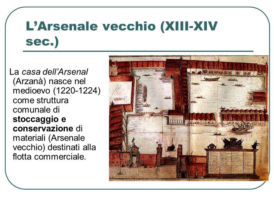 L'Arsenale vecchio (XIII-XIV sec.)