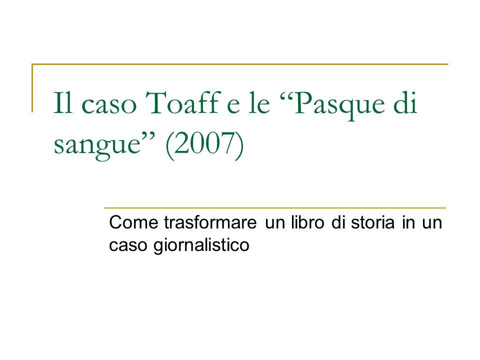 Il caso Toaff e le Pasque di sangue (2007)