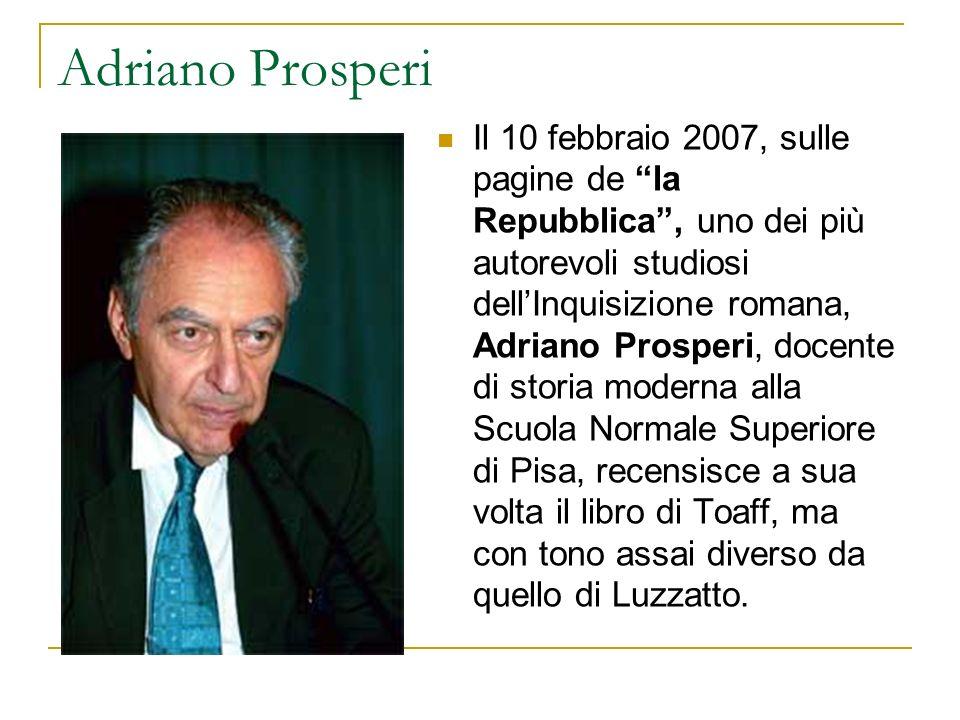 Adriano Prosperi