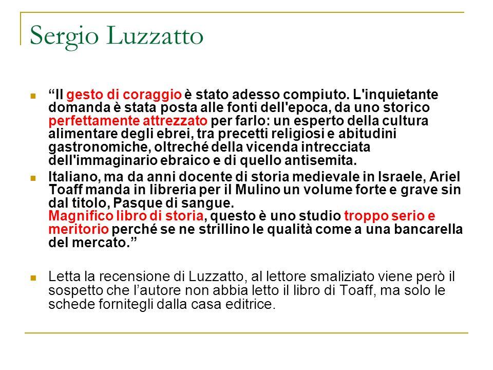 Sergio Luzzatto