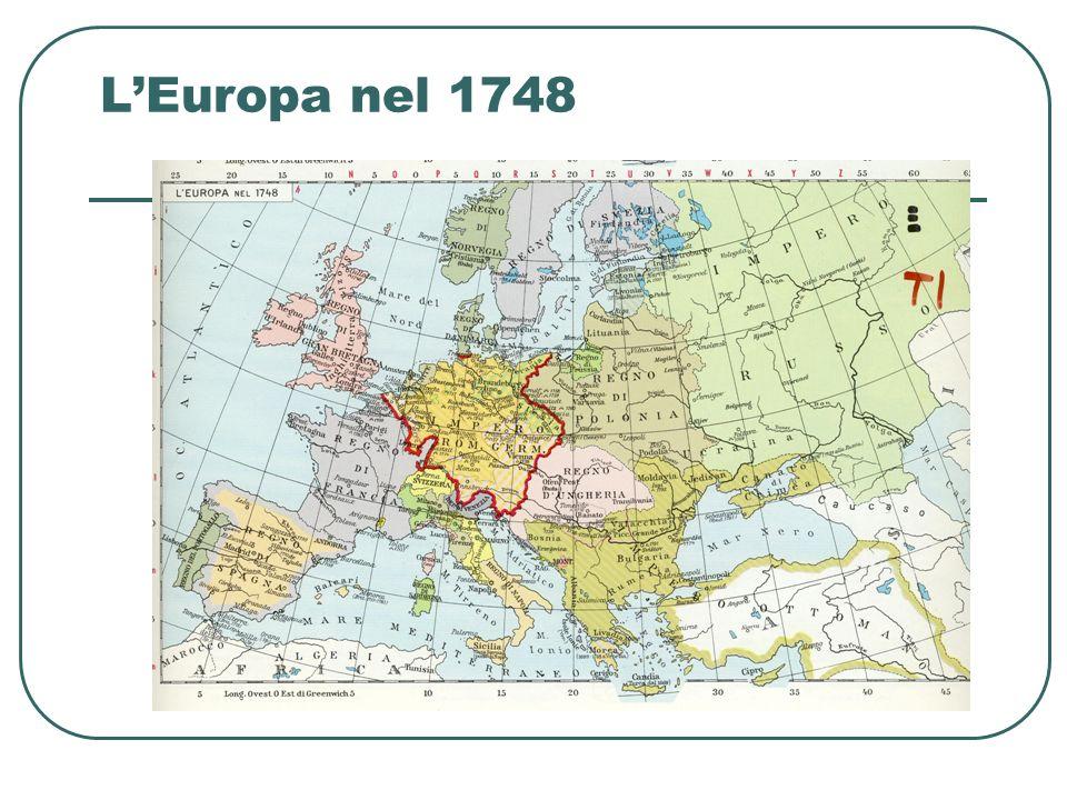 L'Europa nel 1748