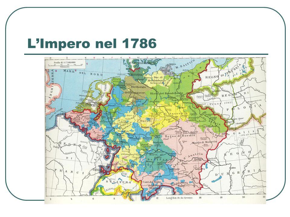 L'Impero nel 1786
