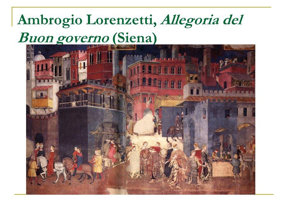 Ambrogio Lorenzetti, Allegoria del Buon governo (Siena)