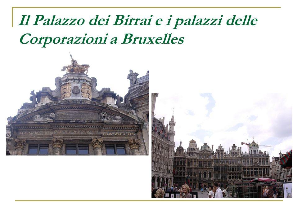Il Palazzo dei Birrai e i palazzi delle Corporazioni a Bruxelles