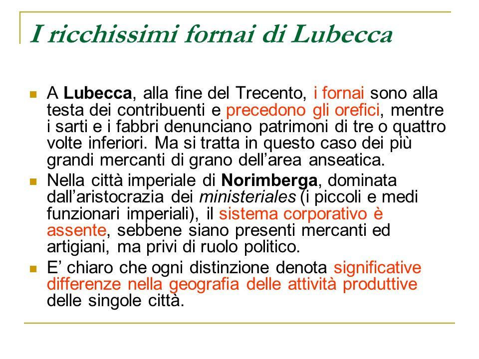 I ricchissimi fornai di Lubecca