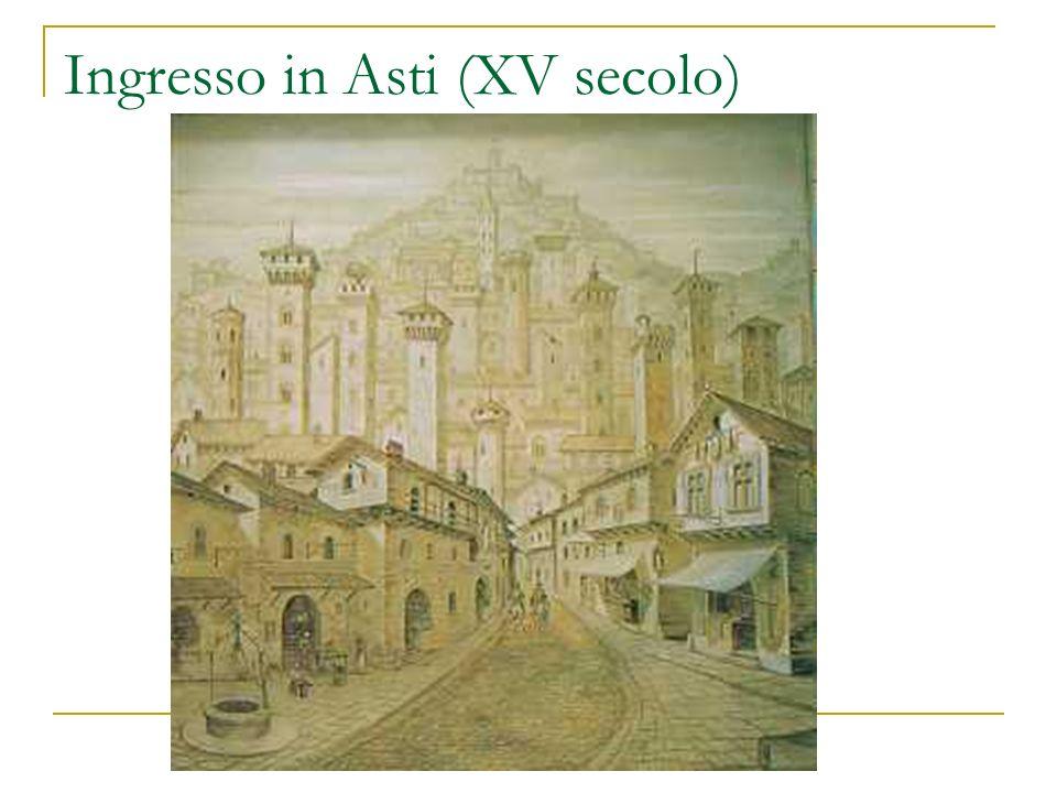 Ingresso in Asti (XV secolo)