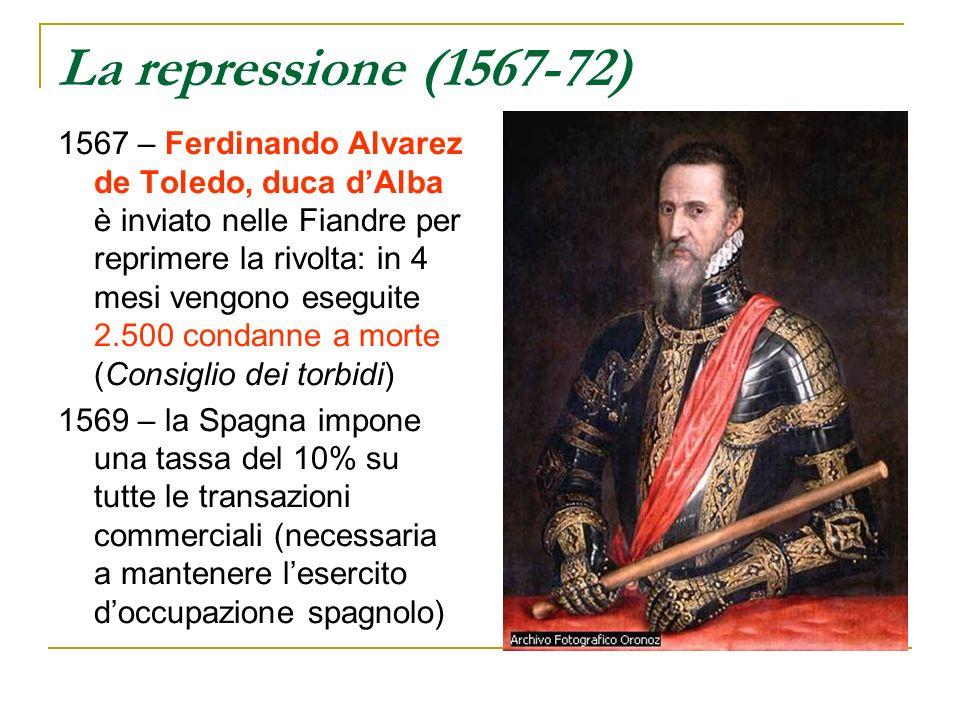 La repressione (1567-72)