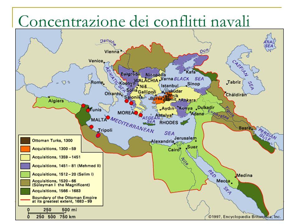 Concentrazione dei conflitti navali