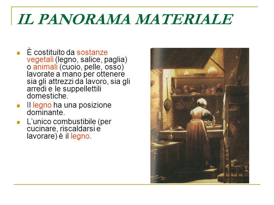 IL PANORAMA MATERIALE