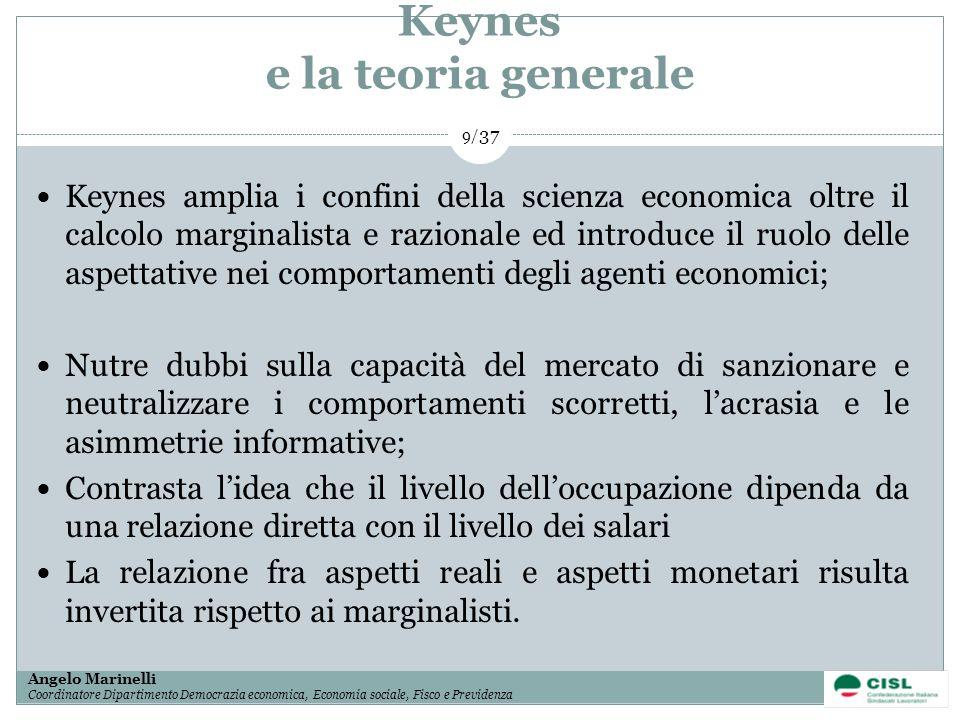 Keynes e la teoria generale