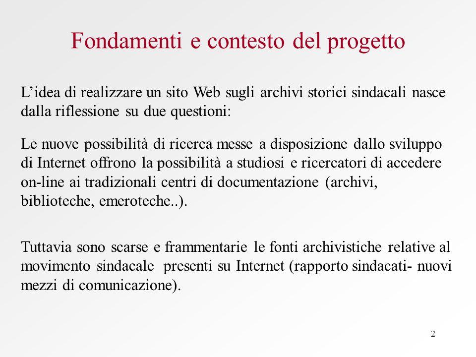 Fondamenti e contesto del progetto