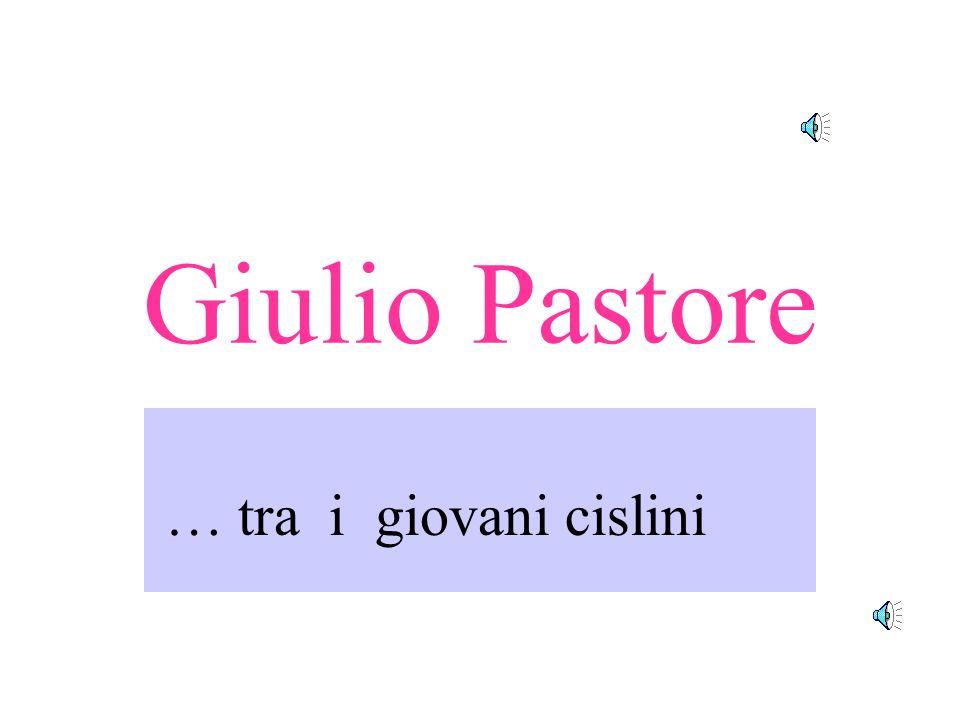 Giulio Pastore … tra i giovani cislini