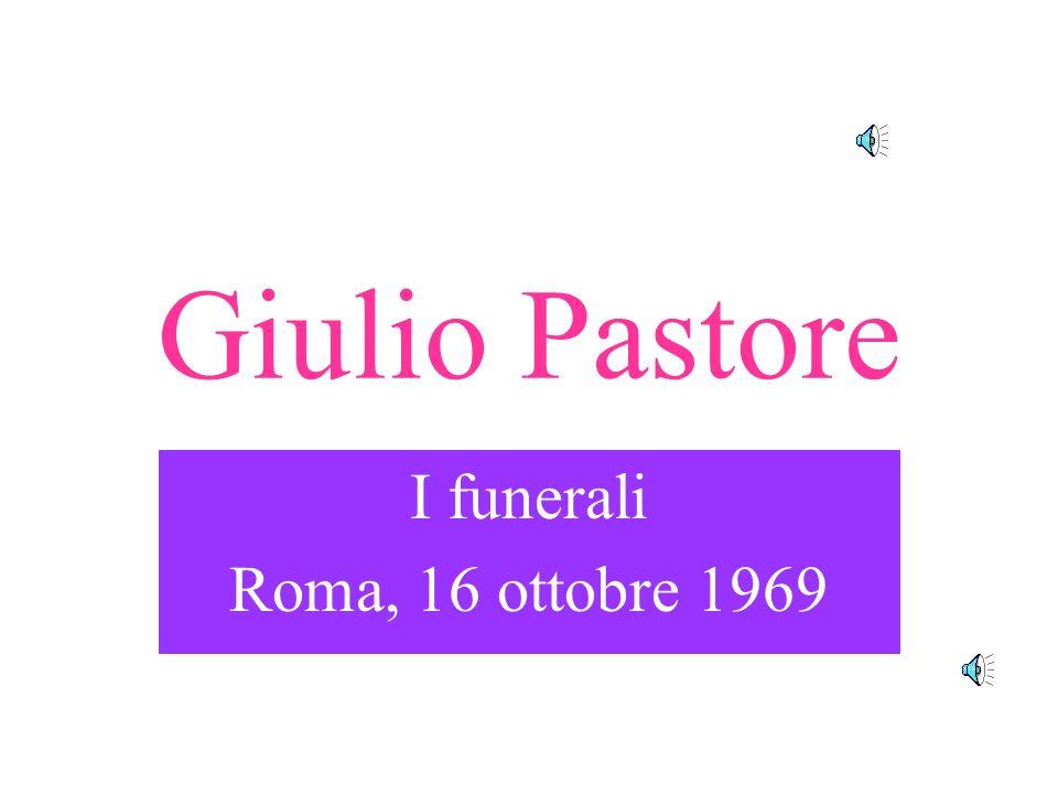 I funerali Roma, 16 ottobre 1969