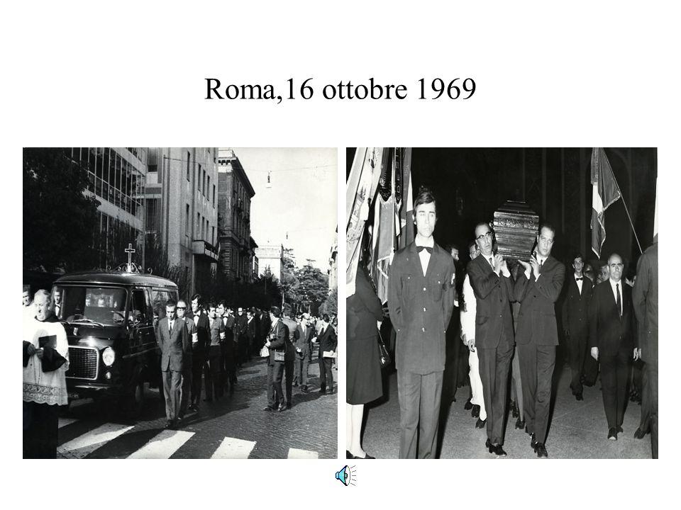 Roma,16 ottobre 1969