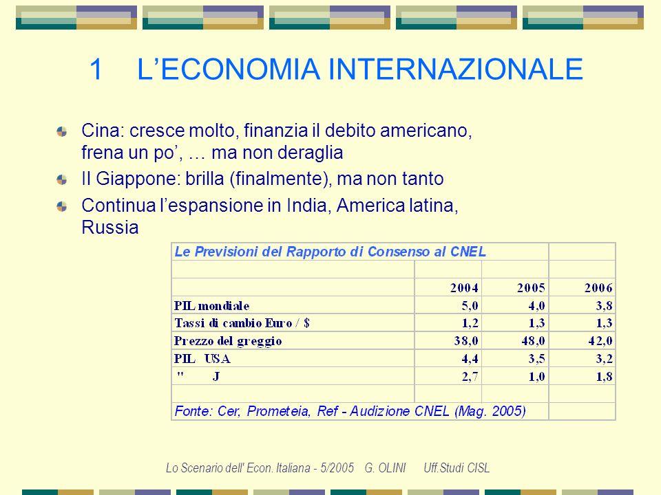 1 L'ECONOMIA INTERNAZIONALE