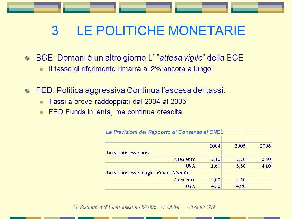 3 LE POLITICHE MONETARIE