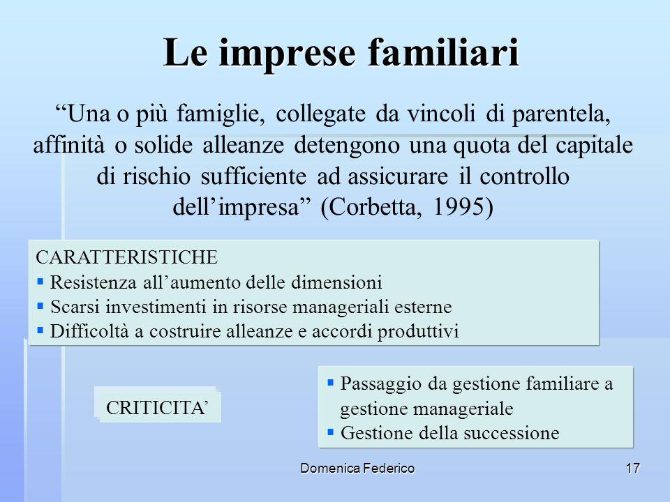 Le imprese familiari