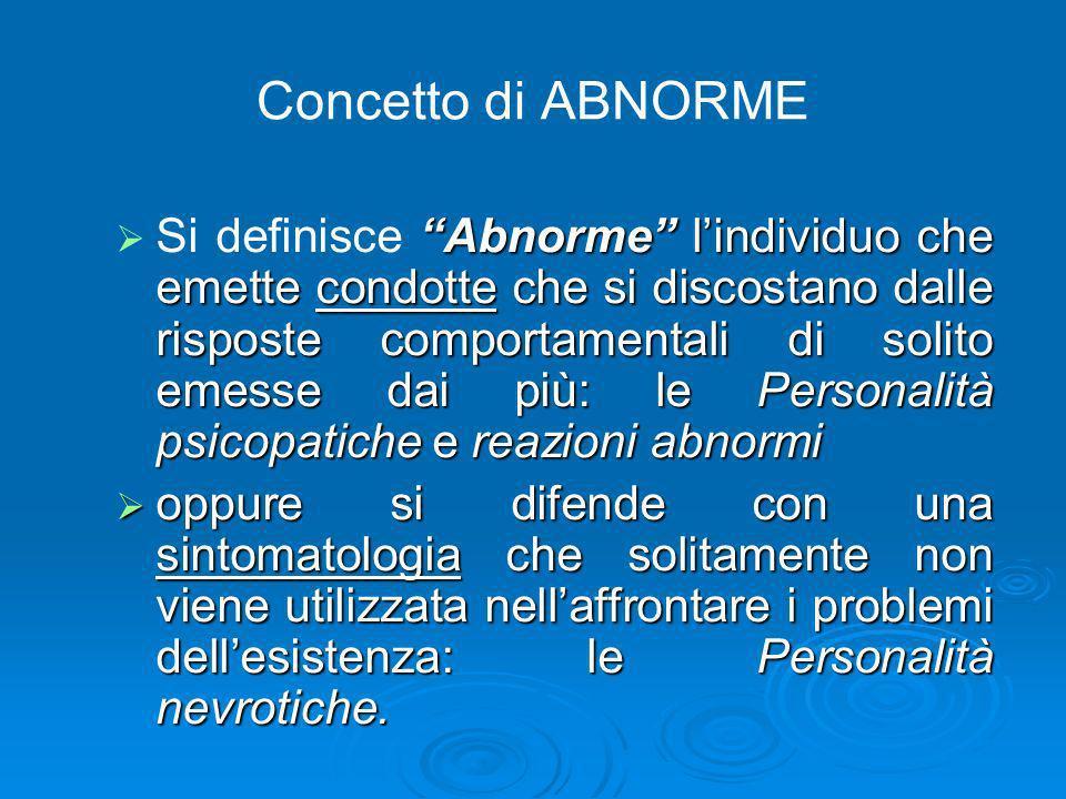 Concetto di ABNORME