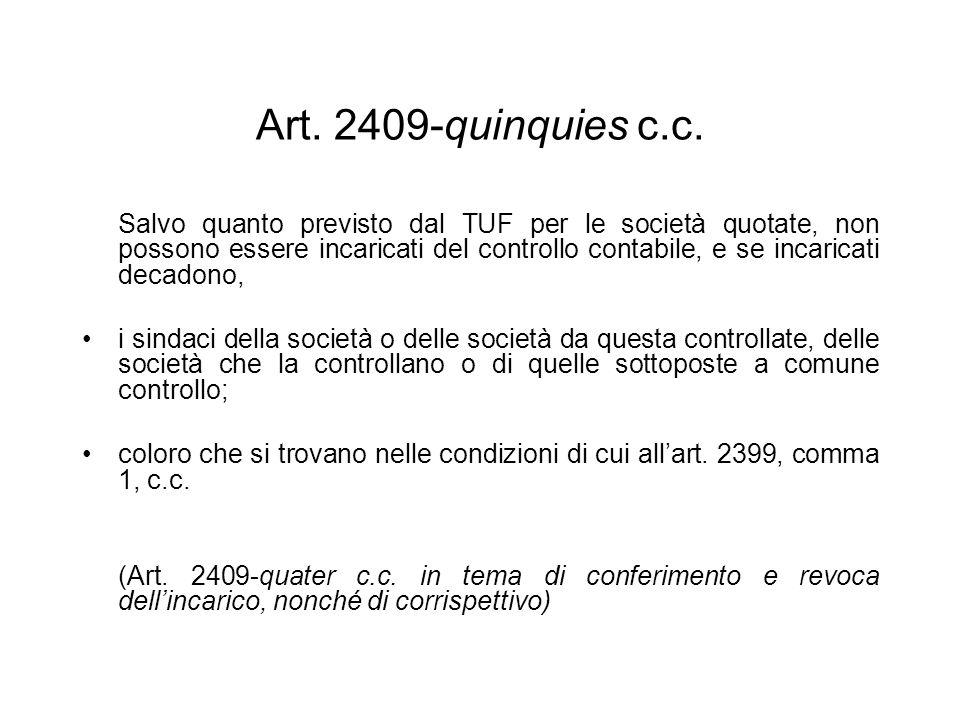 Art. 2409-quinquies c.c.