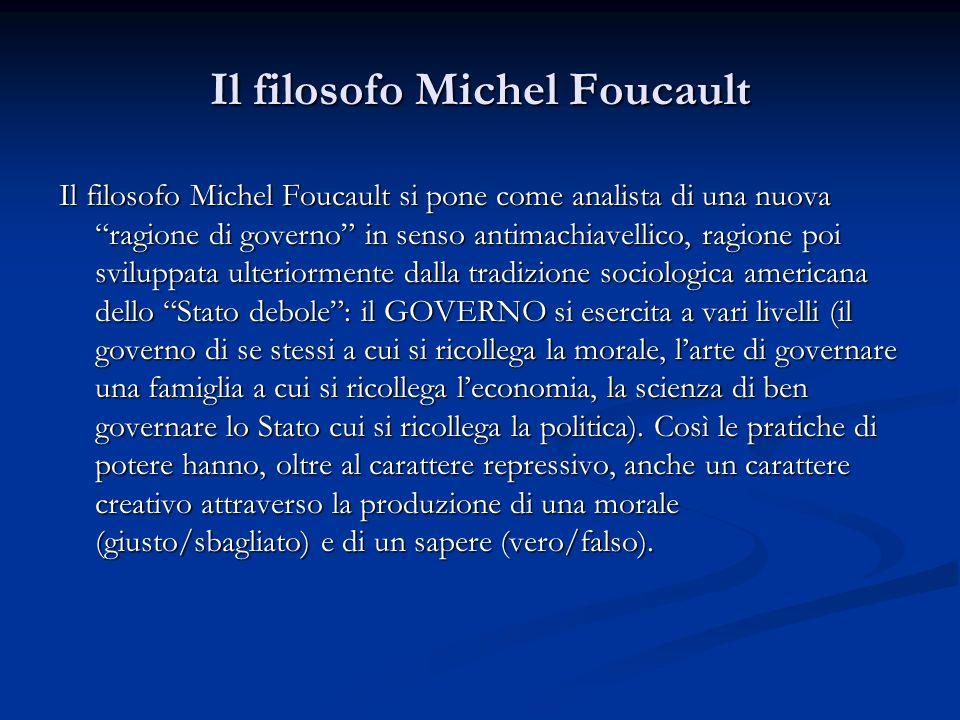 Il filosofo Michel Foucault