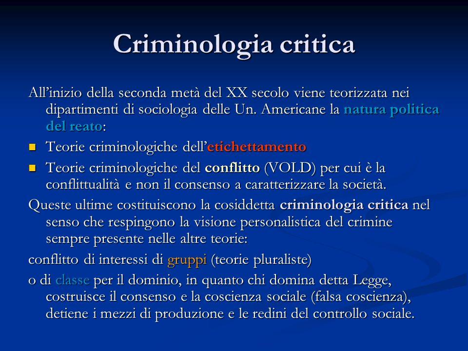 Criminologia critica