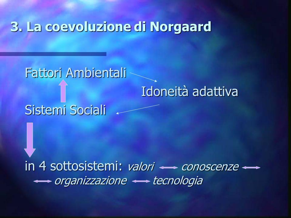 3. La coevoluzione di Norgaard