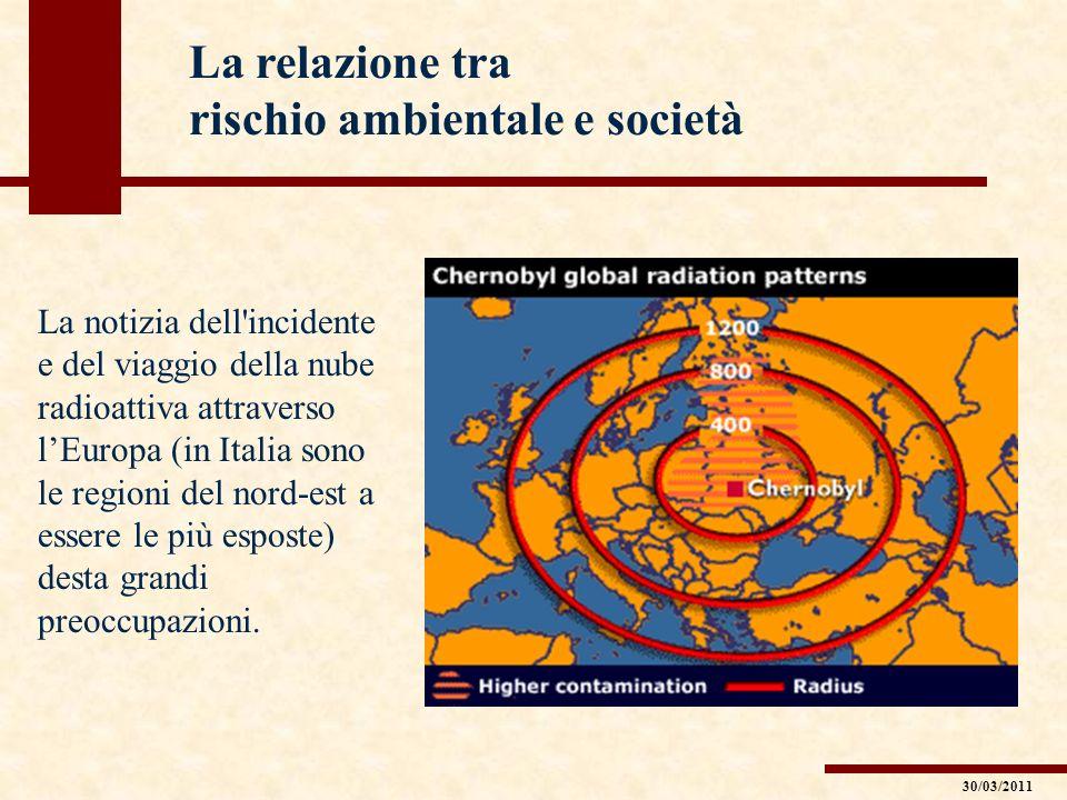 rischio ambientale e società