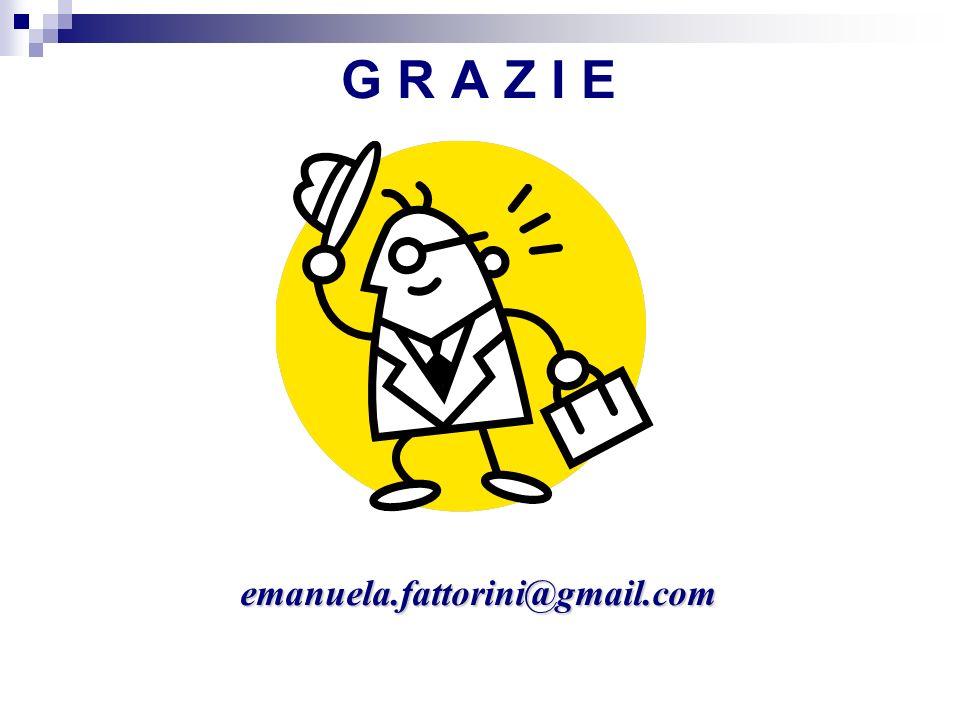 G R A Z I E emanuela.fattorini@gmail.com