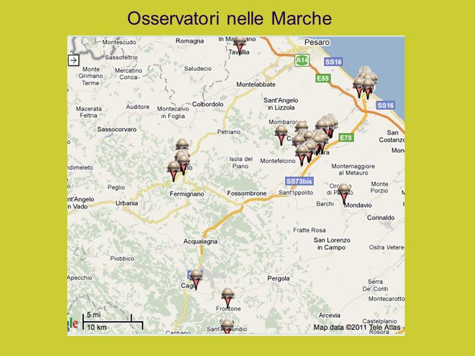 Osservatori nelle Marche