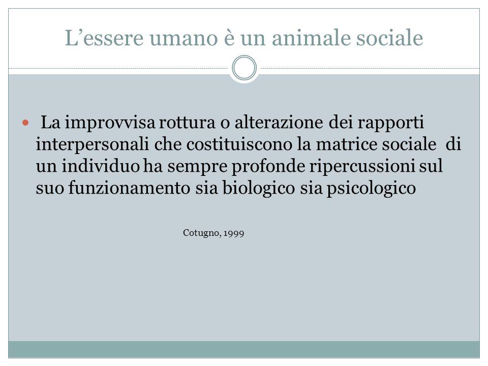L'essere umano è un animale sociale