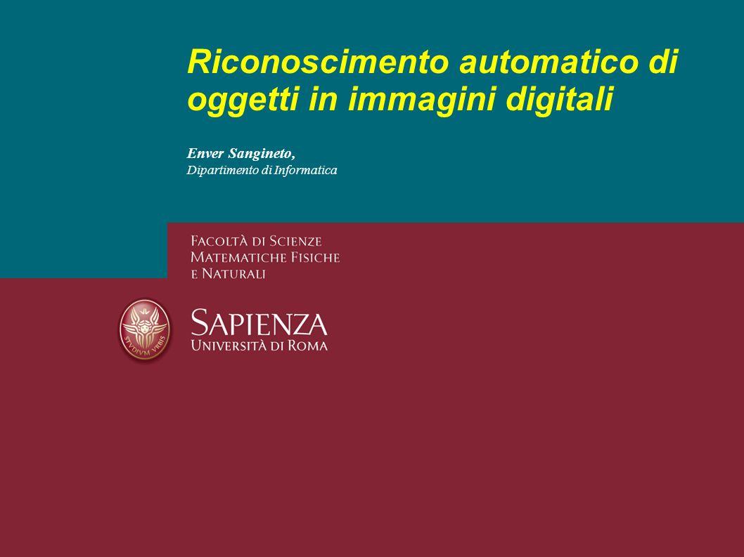 Riconoscimento automatico di oggetti in immagini digitali