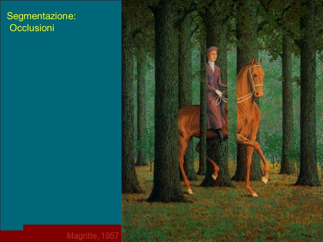 Segmentazione: Occlusioni Magritte, 1957