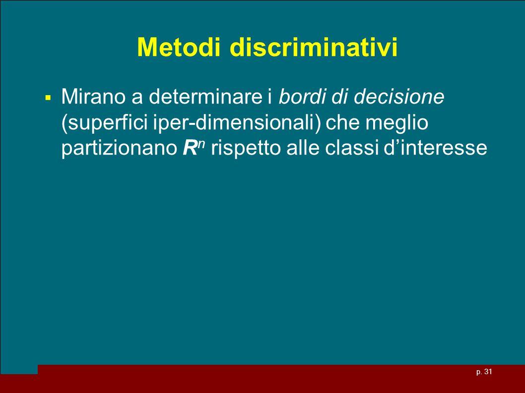 Metodi discriminativi