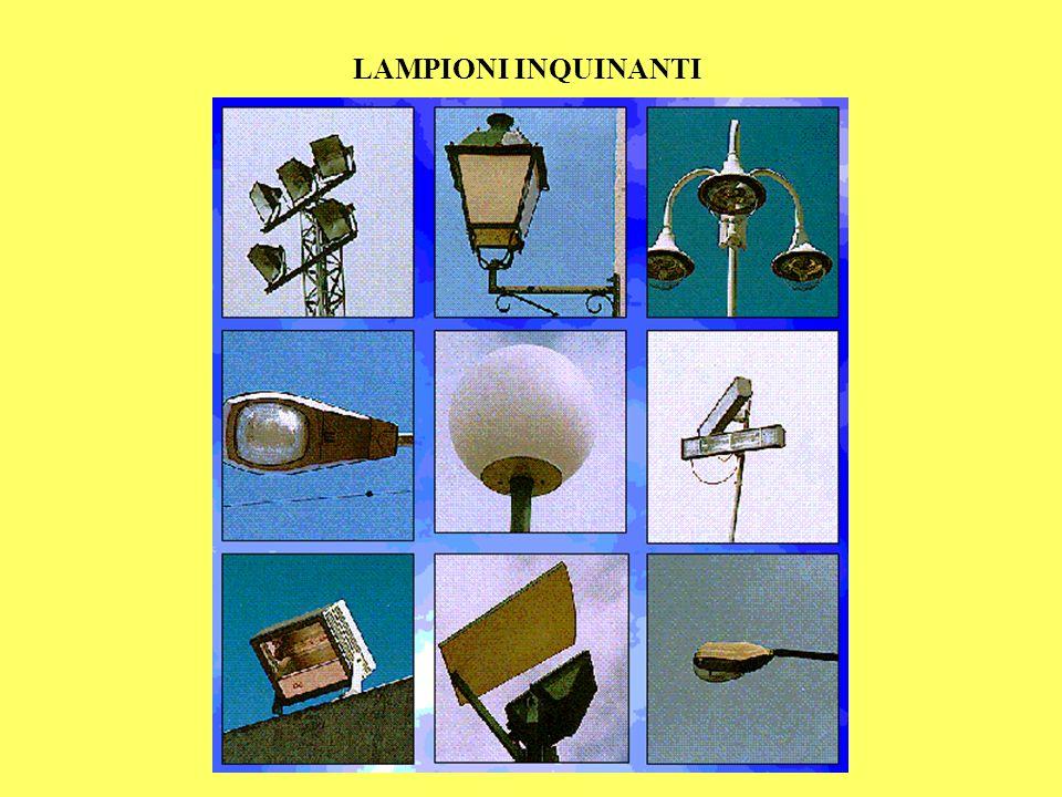 LAMPIONI INQUINANTI