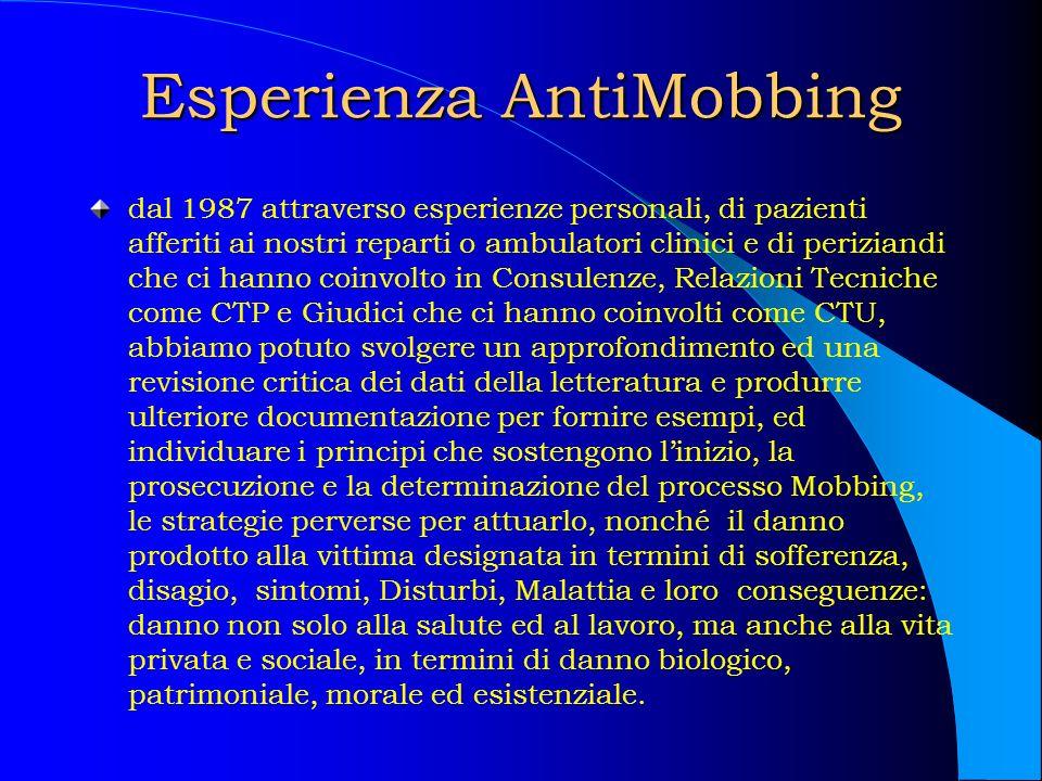 Esperienza AntiMobbing