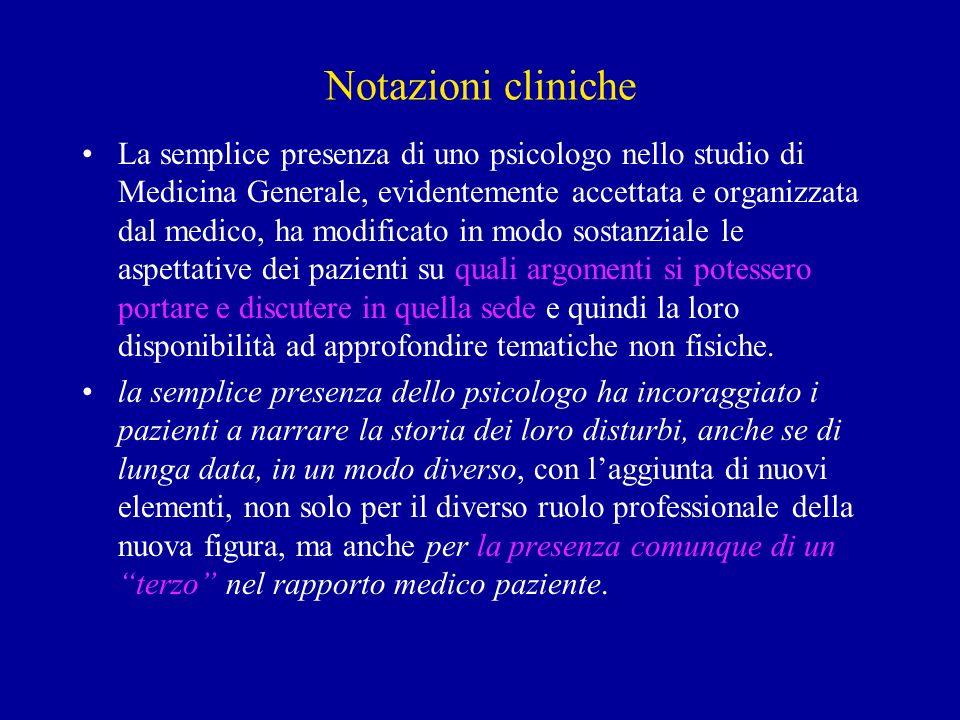 Notazioni cliniche