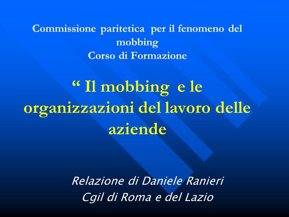 Relazione di Daniele Ranieri Cgil di Roma e del Lazio