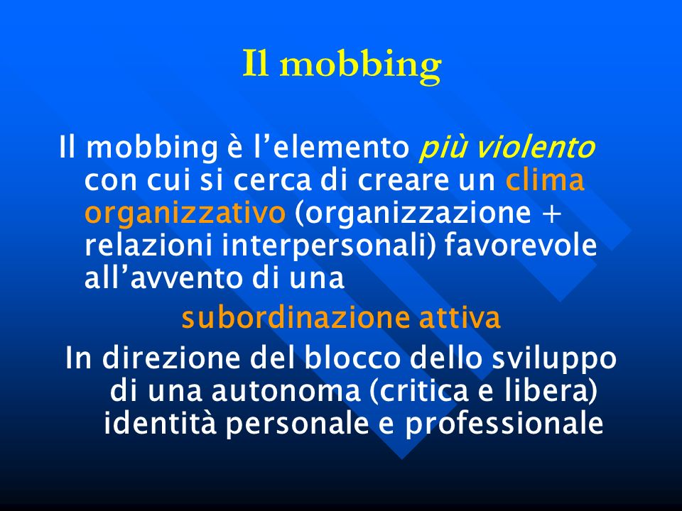 subordinazione attiva
