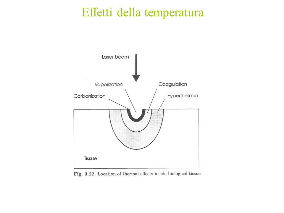 Effetti della temperatura