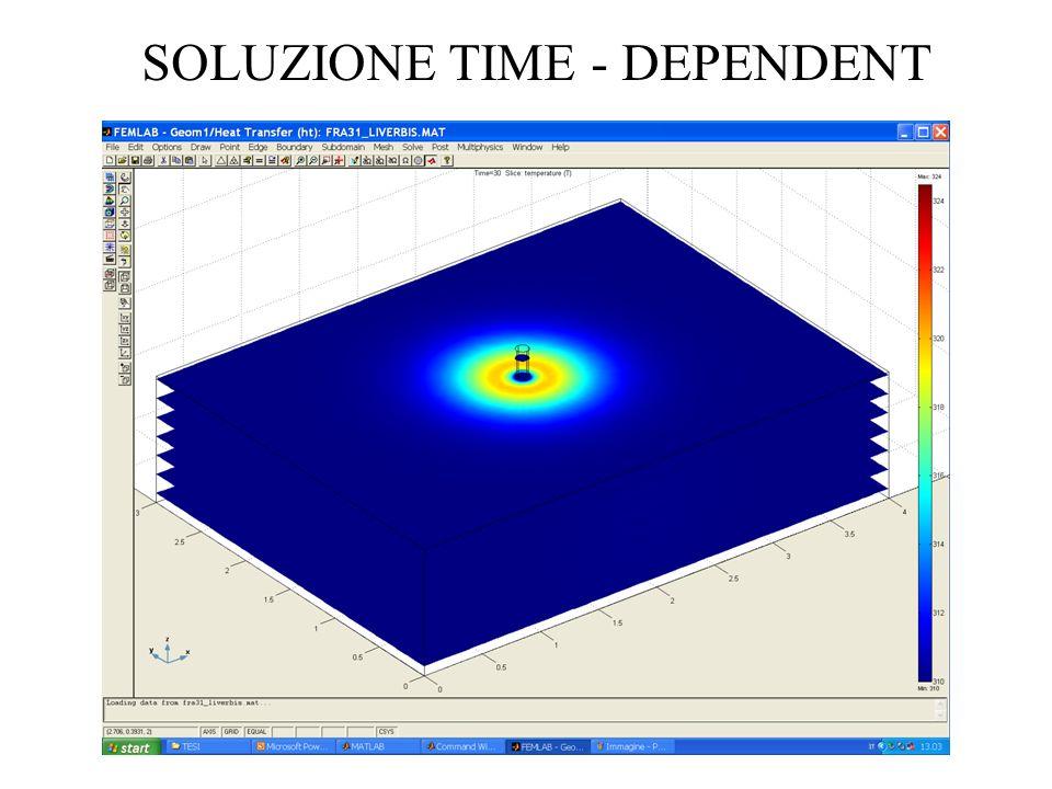 SOLUZIONE TIME - DEPENDENT